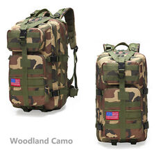 Camo Day Hunting Pack Bag Backpack Pouch Tactical Hiking Gear Storage Rucksack