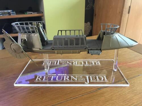 1 x  Acrylic Display Stand - Star Wars - Skiff (Vintage & Modern)