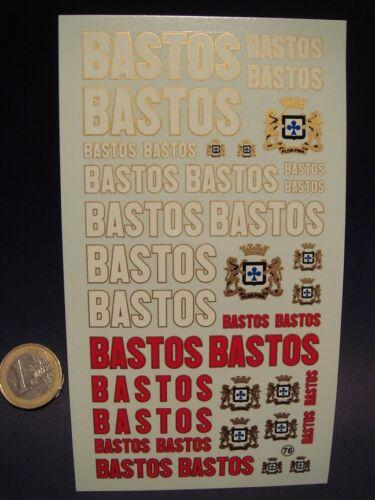 "DECALS 1//24 TABAC /"" BASTOS /"" T76"
