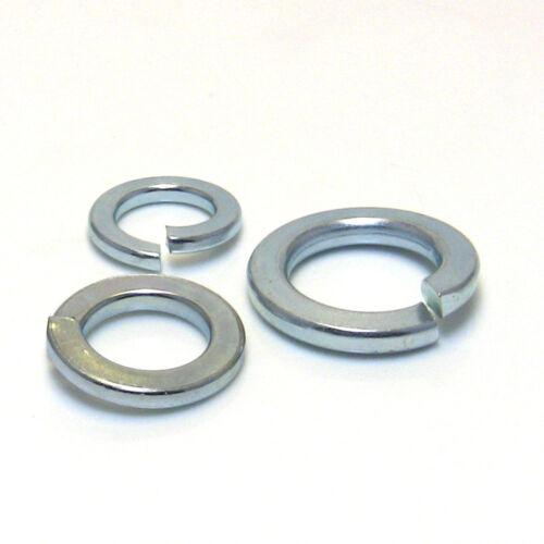 Beilagscheiben Unterlegscheiben Federringe verzinkt DIN 125,127,440  M4-36  b