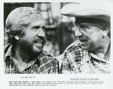 BUCK OWENS SLIM PICKENS HEE HAW ORIGINAL 1982 TV PRESS PHOTO
