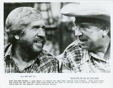 BUCK OWENS SLIM PICKENS HEE HAW ORIGINAL 1982 TV PRESS PHOTO