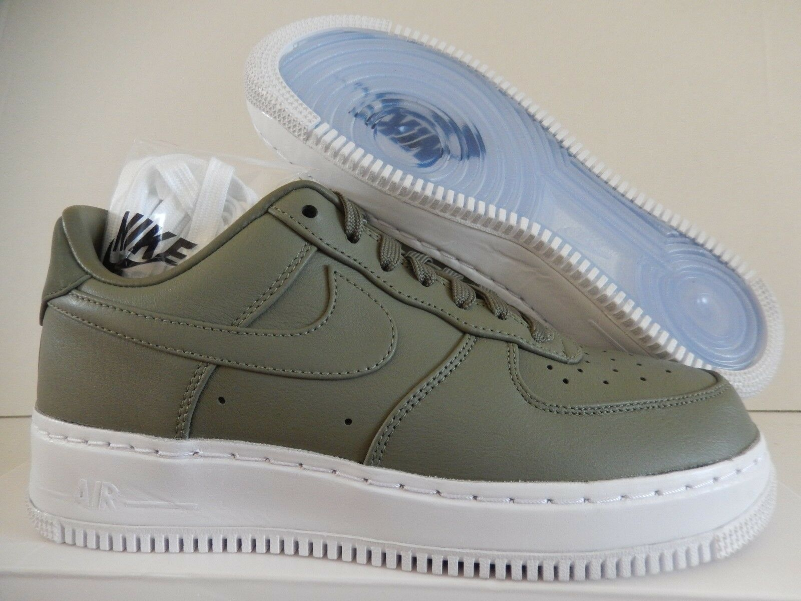 well-wreapped MENS NIKELAB AIR FORCE 1 LOW URBAN HAZE GREEN-WHITE SZ 10