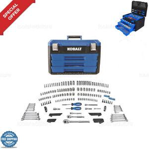 Mechanic-Tools-Automotive-Professional-Set-KOBALT-227-PCS-Ratchets-Sockets-Hex