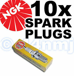10x-Nuevo-Genuino-Ngk-bujias-de-repuesto-bpmr8y-Stock-N-2218-de-precios-del-comercio