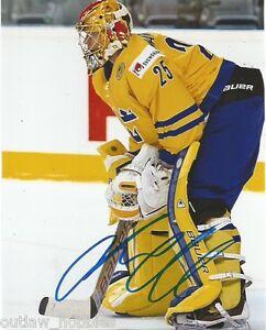 Sweden-Jacob-Markstrom-Signed-Autographed-8x10-Photo-COA-B