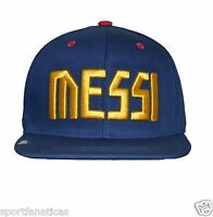 Barcelona Club Snapback Adjustable Cap Hat Soccer - Blue -maroon Season