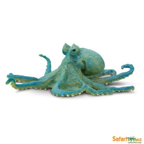 Pieuvre 13 cm série les animaux aquatiques Safari Ltd 200929