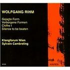 Wolfgang Rihm - : Gejagte Form; Verborgene Formen; Chiffre 1; Silence to be beaten (2000)