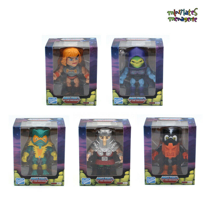 Loyal Subjects Masters  of the Universe Wave 2 General Release Set of 5 cifras  servizio premuroso