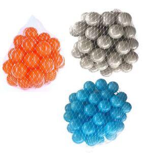 150-9000 Piscine De Balles 55mm Mélange Turquoise Orange Gris Assortiment