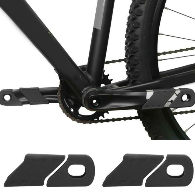 4PCS Bike Bicycle Crank Protector Arm Boots Silicone Bike MTB Crankset Protector
