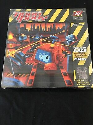 Robo Rally Board Game from AH Avalon Hill Games WotC Factory Sealed Cs12