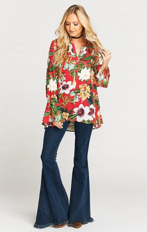 Show Me Your MUMU Anthropologie NWT Perveen Pirate Tea Garden Tunic Dress XLarge