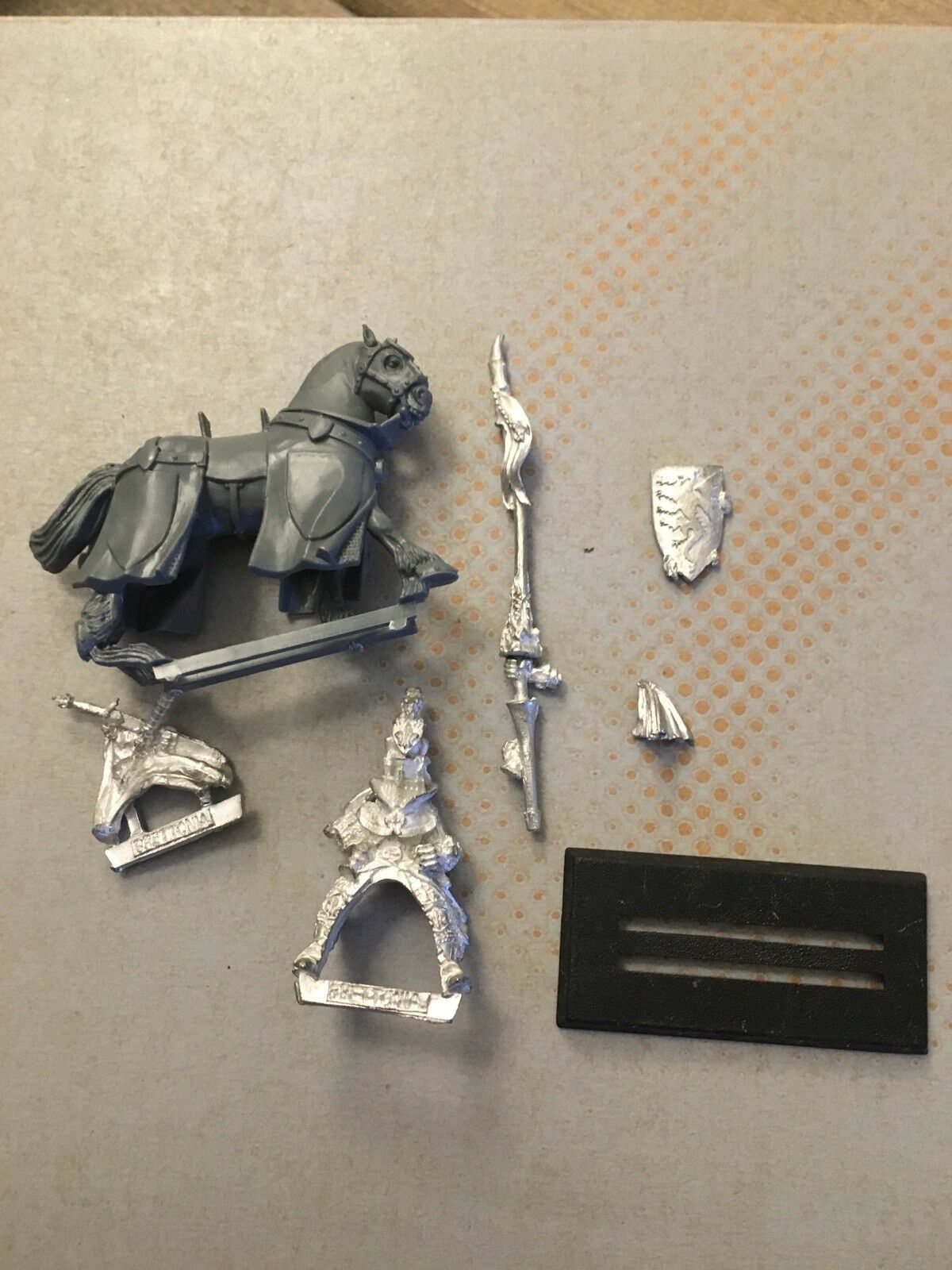 Bretonnia General Metal With  Lance OOP Sixth Edition
