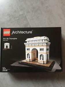 Lego Architecture 21036 Arc De Triomphe Neuf