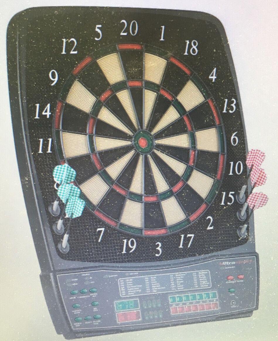 UItrasport Dartboard elektronisch, Classic Dartboard für 8 Spieler NP375