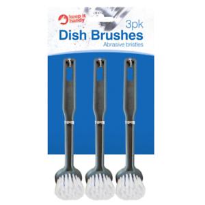 6-X-DETERSIVO-Pennelli-Scrubber-DISH-CLEANER-appeso-gancio-da-cucina-tondo-OTL