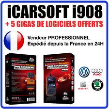 Valise Diagnostique VOLKSWAGEN AUDI SEAT & SKODA iCarSOFT I908 VCDS VAG COM VAS