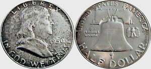 1950-Benjamin-Franklin-Half-Dollar