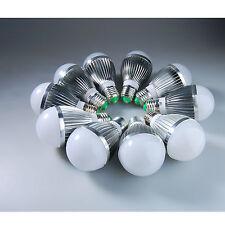 US 10pcs LED E27 15W 5x3w White Light High Power Energy Saving Bulb Lamp