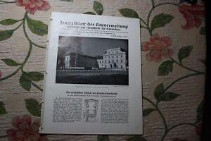 1941... Bauverwaltung 1/château Oranienburg/prague Jugendhergberge-g 1 / Schloss Oranienburg / Prag Jugendhergberge Fr-fr Afficher Le Titre D'origine
