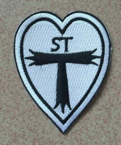 patch.Fancy dress, uniform iron on badge St Trinians old style blazer