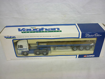 Logistics Truck Flatbed Vaughan ECS Corgi Modern ERF Haulage CC12703 4HHvq8w