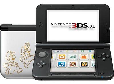 Nintendo 3ds Xl Silver Super Mario Luigi Dream Team Edition 3d Ds Game System 45496780883 Ebay