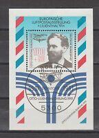 1991 Bund Mi. Block 24 Sonderstempel Bonn 1