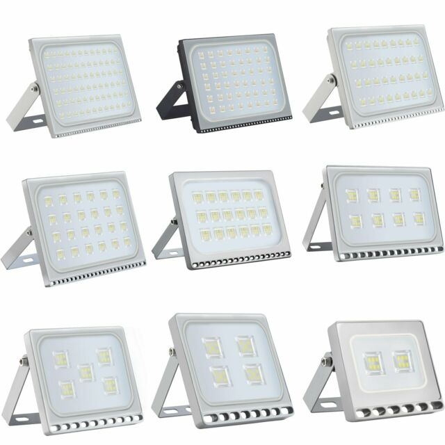 220V 2x 50W Floodlight Cool White IP65 LED Flood Wash Light Outdoor Lamp