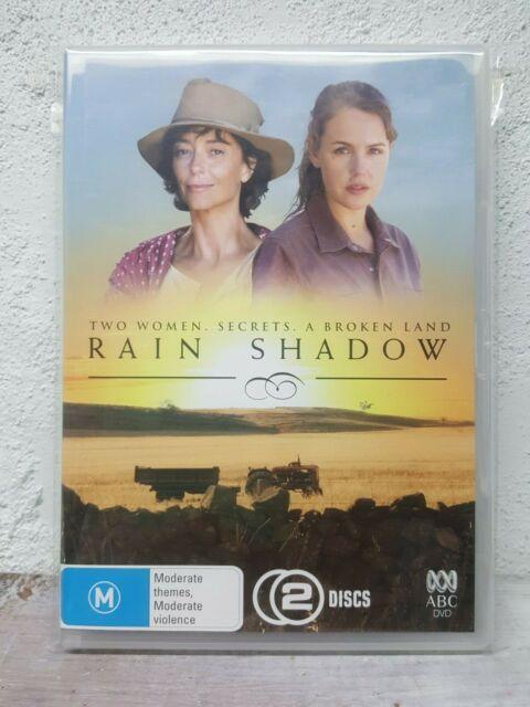 Rain Shadow DVD Australian Mini-Series - 6 HOURS - RARE (2 DISC SET) REGION 4