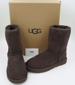 f582b5a4a92 Details about UGG Australia Women's Classic Short II Boots Chocolate  Authentic Size 6, 7 NIB