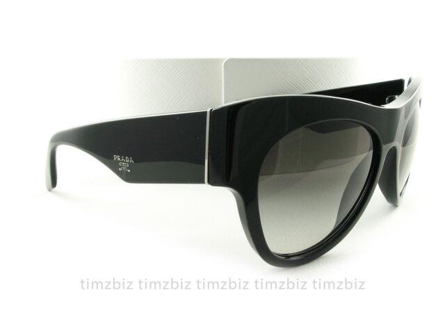 b6b6baf70ac PRADA Sunglasses Spr28q Voice Black 1ab0a7 Authentic 0pr 28qs for ...