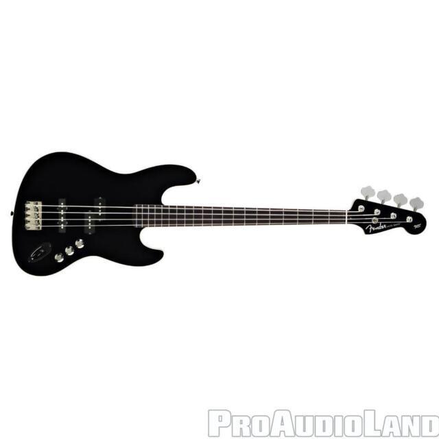 Fender Aerodyne Jazz Bass Maple Black NEW