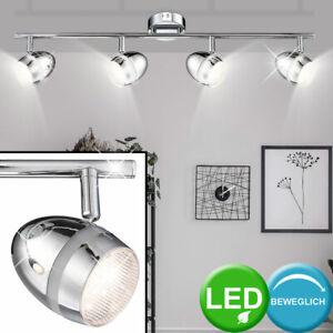 RGB LED Decken Leuchte Ess Zimmer Licht Schiene Kugel Spot beweglich DIMMBAR