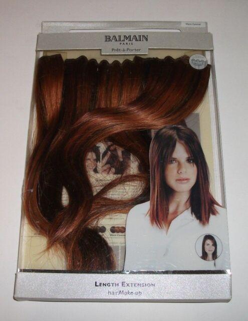 Balmain Hair Length Extension Warm Caramel 25 Cm Ebay