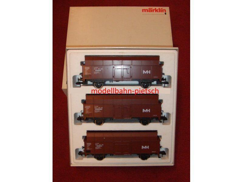 traccia i N. 5875-Wagenset Maxhütte, nuovo in scatola originale
