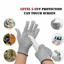Us Safety Cut Proof Stab Resistant Butcher Gloves Kitchen Level 5 Protection Hot