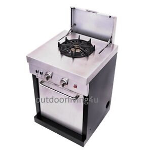 Stove Top Add On Component To Separate Outdoor Kitchen Purchase Ebay