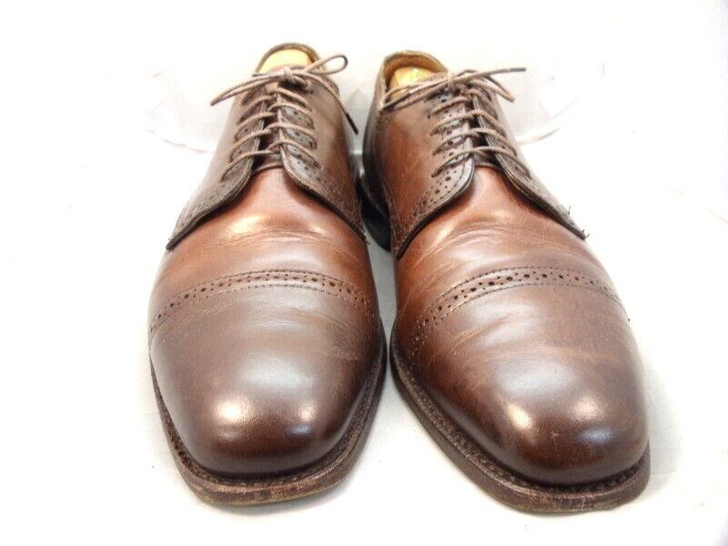 Allen Edmonds Men's shoes  Yorktown  Derby Oxfords Brown 10.5 D (150)