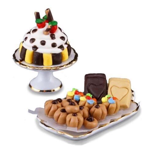 Dollhouse Fancy Dessert Assortment 1.410//5 Reutter Porcelain Miniature gemjane