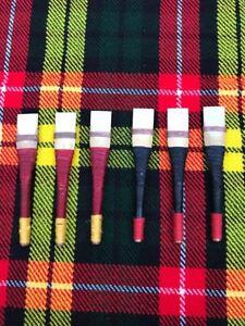 Cc Uilleann Cornemuse Chanter Reeds Of Spanish Canne/uillean Pipes Reeds 6 Pcs-afficher Le Titre D'origine