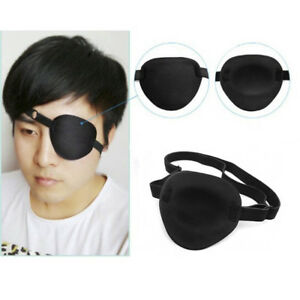 Concave-Eye-Patch-Foam-Groove-Washable-Eyeshades-Adjustable-Strap-Medical-Use