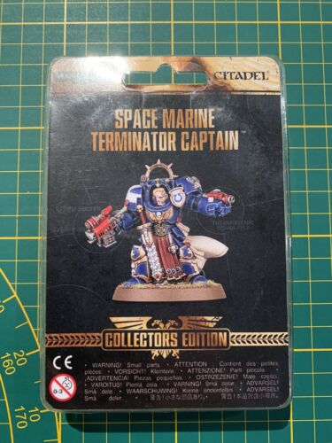 Warhammer 40K Space Marine Marines Terminator Captain Limited Edition New Rare