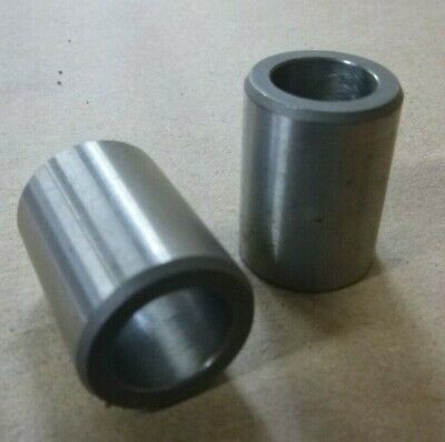 """1//4/"""" ID x 3//8/"""" OD x 1//2/"""" TALL STAINLESS STEEL STANDOFF BUSHING SPACERS 7pc."""