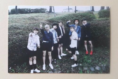 BTS Bangtan Boys I need you Fan Meeting Official Photocard Photo Card - Group