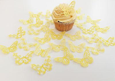 Other Baking Accessories 32 Comestible Limón Cielo Mariposas Precortado Oblea Adornos De Cupcake Warm And Windproof