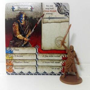 DANTON-William-Wallace-Zombicide-Black-Plague-Green-Horde-D-amp-D-Heroquest