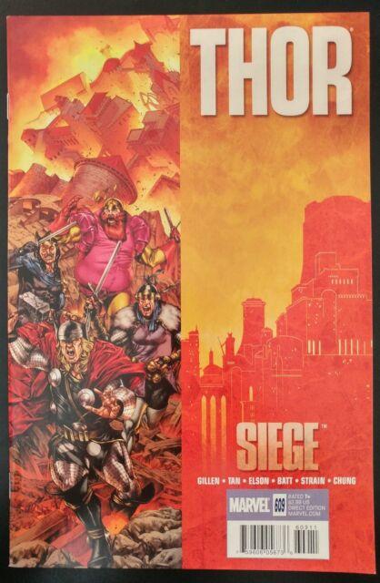 THOR #609 Siege (2010 MARVEL Comics) ~ VF/NM Book
